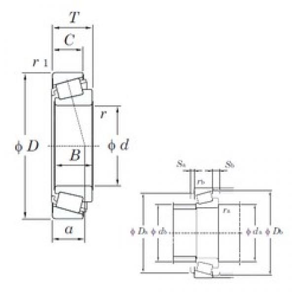 KOYO JM714249/JM714210 tapered roller bearings #1 image