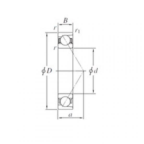 KOYO 7234B angular contact ball bearings #1 image