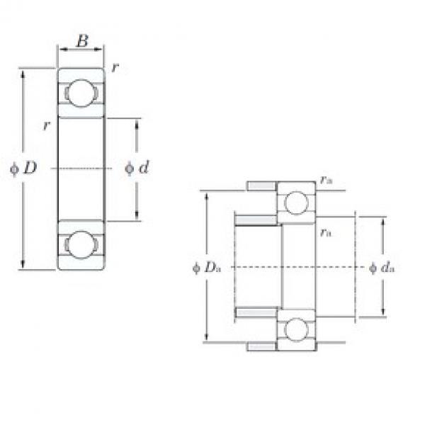 KOYO 6210R deep groove ball bearings #1 image