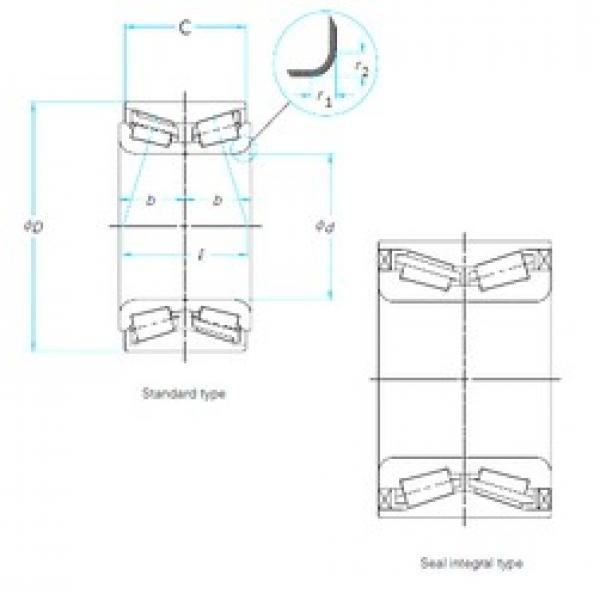 Timken 513245 tapered roller bearings #1 image