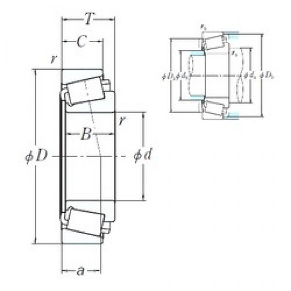 NSK EE130787/131400 cylindrical roller bearings #1 image