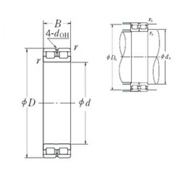 NSK RSF-4836E4 cylindrical roller bearings #1 image