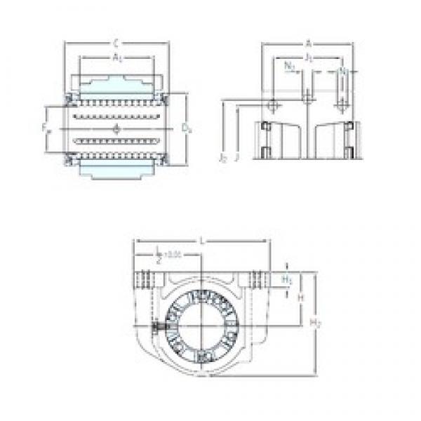 SKF LUCR 8 linear bearings #1 image